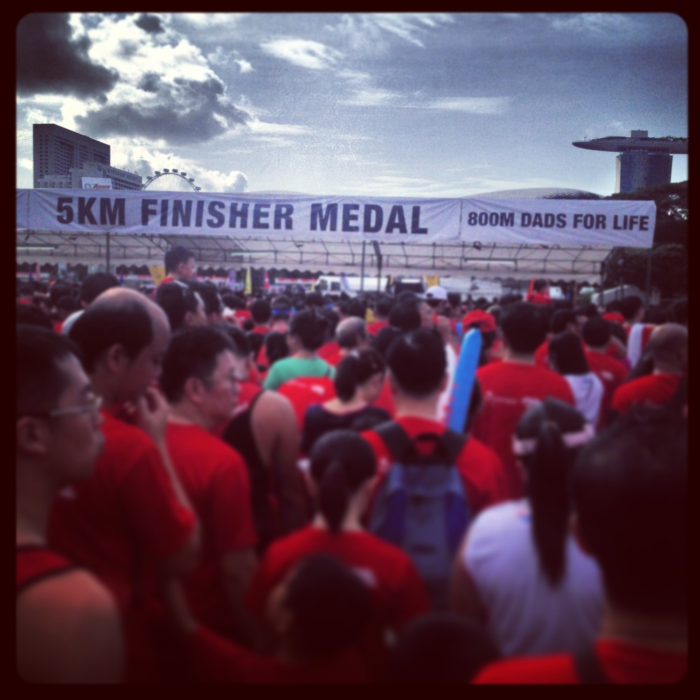 """""""And so every single one in #TheRunningFamily completed their mission. Yezzzzzaaahhh!!"""""""
